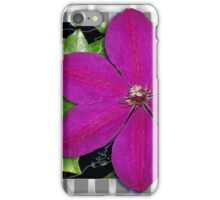 Clematis & Weave iPhone Case/Skin
