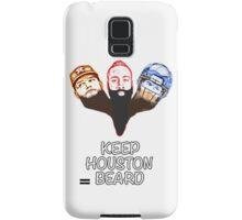 Keep Houston Beard Samsung Galaxy Case/Skin