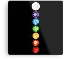 The 7 Chakras Metal Print