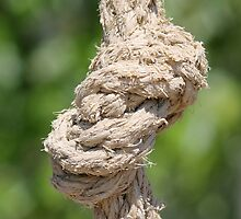 knot on the rope by spetenfia