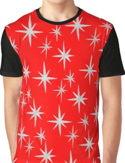 Red Star Christmas Graphic T-Shirt