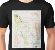 USGS TOPO Map California CA Coachella 297121 1956 62500 geo Unisex T-Shirt