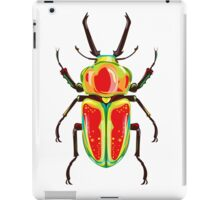 Green bug iPad Case/Skin