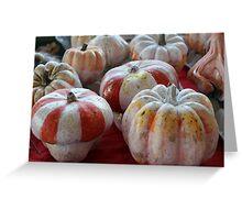 decorated pumpkins Greeting Card
