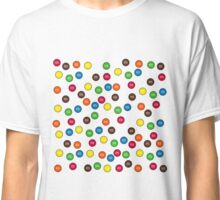 Cute Candy Chocolate Collage Classic T-Shirt