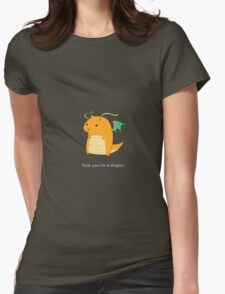 Dragonite Womens Fitted T-Shirt