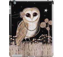 Little Barn Owl iPad Case/Skin
