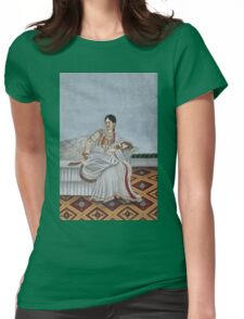 Dancing Girl (1780-1790) Womens Fitted T-Shirt