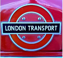 London Transport  - London Bus logo Photographic Print