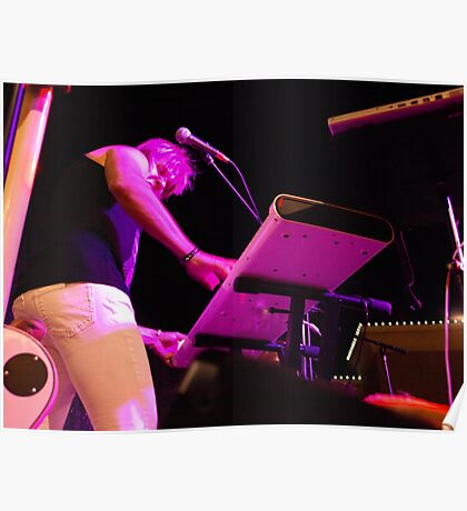 Keyboard Player Poster