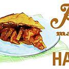 Pie Makes Me Happy by evisionarts