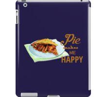 Pie Makes Me Happy iPad Case/Skin