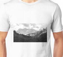 Der Alpen Aussichtspunkt Unisex T-Shirt