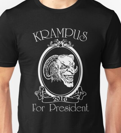 Krampus 4 President Unisex T-Shirt