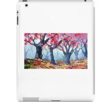 Zen dead spring  iPad Case/Skin
