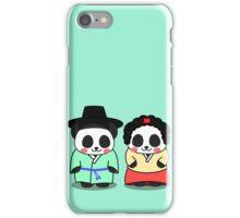 Panda Korean Lover iPhone Case/Skin