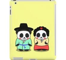 Panda Korean Lover iPad Case/Skin