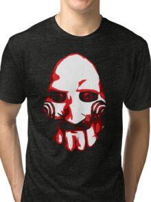Jigsaw Vector Art Tri-blend T-Shirt