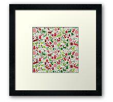 Christmas Elements 1 Framed Print