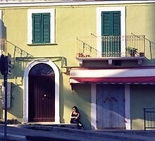Quiet Italian village ~ at siesta time by lols