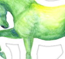 Emerald Horse Sticker
