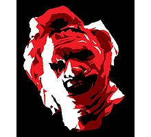 Leatherface Vector Art Photographic Print