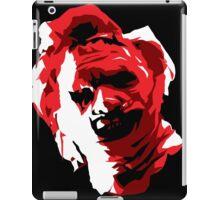 Leatherface Vector Art iPad Case/Skin