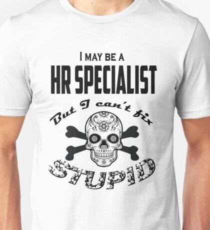 HR specialist Unisex T-Shirt