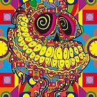 Día de los Muertos (Day Of the Dead) Skull by Jonathan Oldfield