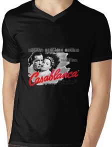 Casablanca Mens V-Neck T-Shirt