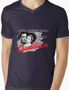 Casablanca Mens V-Neck T-Shirt
