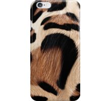 leopard fur heart iPhone Case/Skin