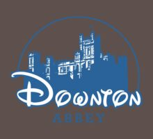 The Wonderful World of Downton Abbey (Downton Abbey + Disney logo mashup) Kids Clothes