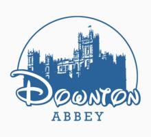 The Wonderful World of Downton Abbey (Downton Abbey + Disney logo mashup) Kids Clothes
