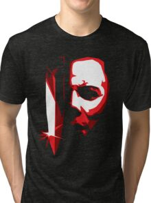 Michael Meyers Vector Art Tri-blend T-Shirt