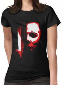 Michael Meyers Vector Art Womens Fitted T-Shirt