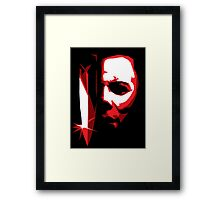 Michael Meyers Vector Art Framed Print