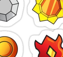 Kanto Badges Sticker