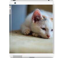 Sleepy kitten iPad Case/Skin