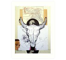 OFRENDA AL MAR NEGRO (offering to the black sea) Art Print