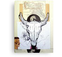 OFRENDA AL MAR NEGRO (offering to the black sea) Metal Print