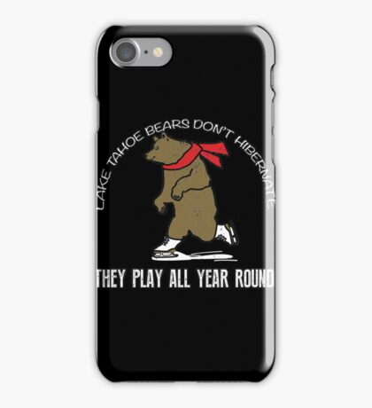 Care Bears They Play All Year Round Fozzie T-shirts iPhone Case/Skin