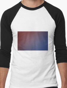 red and blue Men's Baseball ¾ T-Shirt