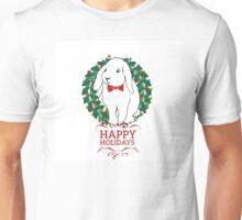 Hoppy Holly Rabbit Unisex T-Shirt