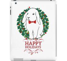 Hoppy Holly Rabbit iPad Case/Skin