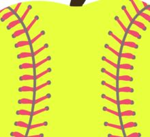 Softball Products: The Apple Didn't Fall Far From the Tree - Greatness Runs in the Family Sticker