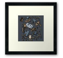 Survival Game Framed Print