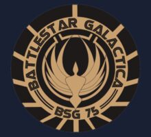 Battlestar Galactica Staff Shirt by RAGEDBUBBLE