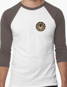 Battlestar Galactica Staff Shirt Men's Baseball ¾ T-Shirt