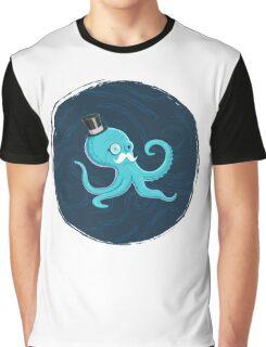 Gentleman Octopus Graphic T-Shirt